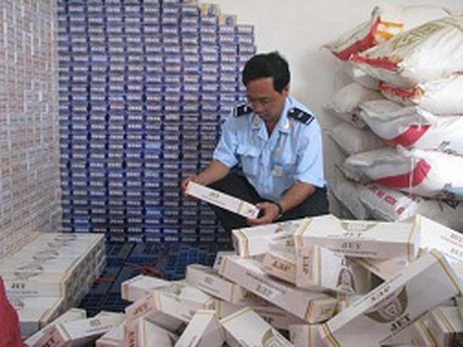 Nhức nhối thuốc lá nhập lậu