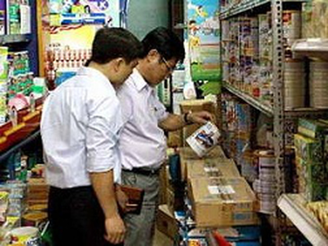 TP HCM thu giữ nhiều sản phẩm sữa ngoại nhập lậu