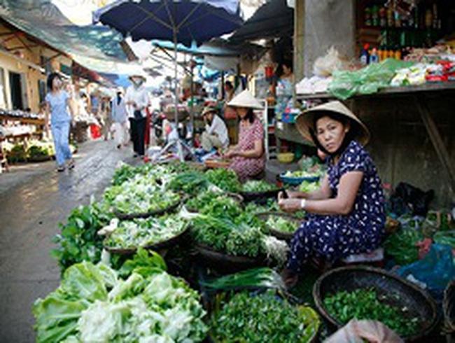 Giá rau liên tục tăng cao