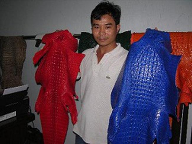 Cá sấu khan hàng, giá cao kỷ lục