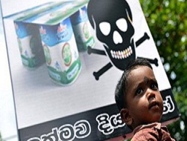 Hãng sữa Fonterra đóng cửa nhà máy tại Sri Lanka