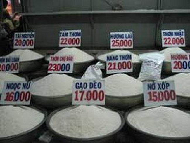 Thiếu kiểm soát gạo bán lẻ