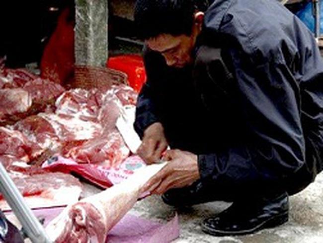 Hà Nội: 80% thịt ra chợ chưa được kiểm tra vệ sinh thú y