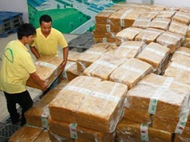 Xuất khẩu cao su sẽ đạt 4,5 tỷ USD trong năm 2013