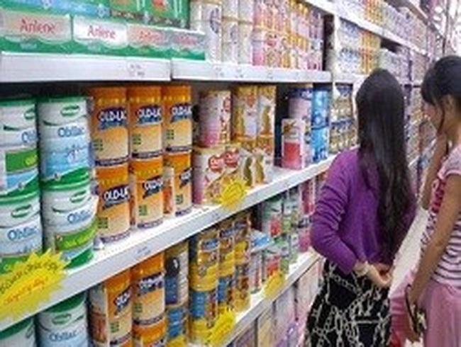 Rà soát sữa nhiễm hàm lượng nhôm cao