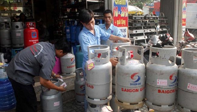 Từ 1/11 giá gas bán lẻ tăng 18.000 đồng/bình 12 kg