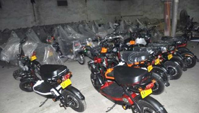 Hà Nội thu giữ số lượng lớn xe đạp điện không rõ nguồn gốc
