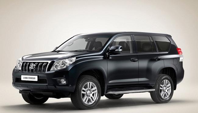 Toyota Việt Nam thu hồi 126 xe Hiace và Land Cruiser Prado