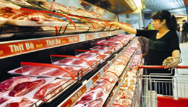 Gánh thuế và phí, thịt bò Úc vẫn rẻ hơn bò Việt