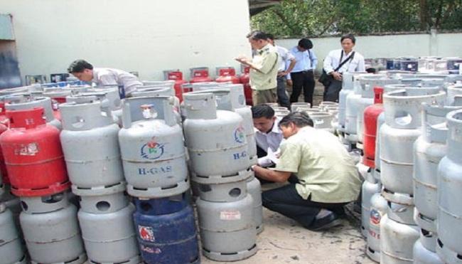 Xử phạt vụ giao gas giả nhãn hiệu