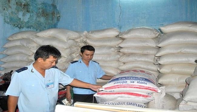 Tịch thu gần 16 tấn đường có nguồn gốc nhập lậu