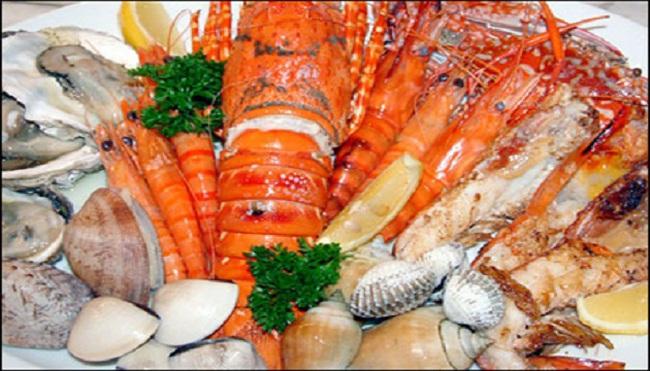 Khan hiếm hải sản cận tết