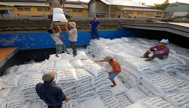 Năm 2013, xuất khẩu gạo chỉ đạt 6,61 triệu tấn
