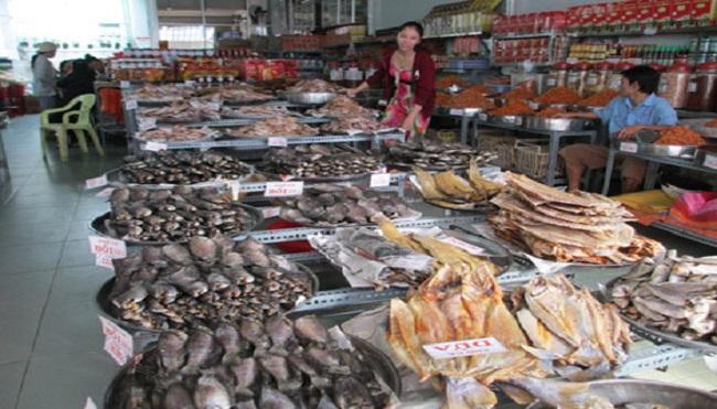 Gần tết, khô cá Cà Mau đắt hàng