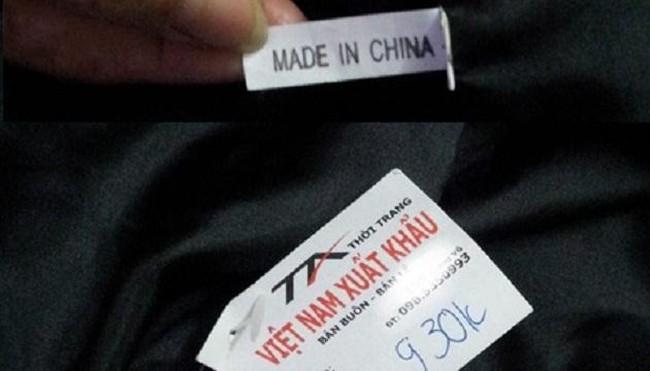 """Đội mác """"Made in Vietnam"""" để móc túi khách hàng"""