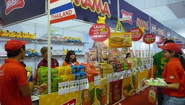 Hàng Thái tràn ngập thị trường Tết Việt
