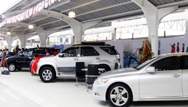 Doanh số bán ô tô tăng mạnh