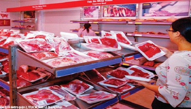 Thị trường thịt bị đánh úp