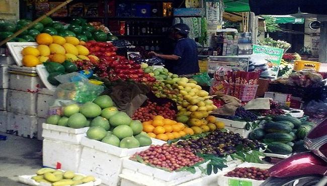 Bất chấp cảnh báo, hoa quả Trung Quốc vẫn dồn về chợ