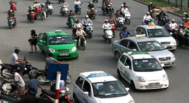 Cấm taxi các tỉnh hoạt động tại Thủ đô Hà Nội