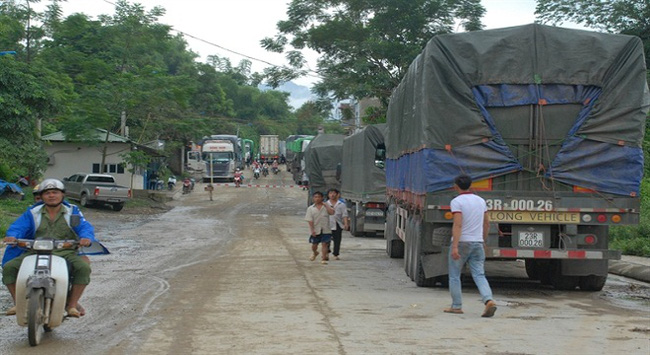 Nông sản Việt Nam dồn ứ, hàng tạm nhập tái xuất lưu thông vèo vèo