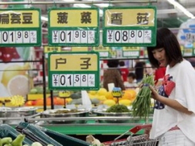 Trung Quốc đối mặt với nguy cơ lạm phát gia tăng