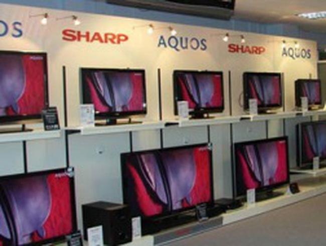 """Đến lượt Sony, Sharp báo lỗ """"khủng"""""""