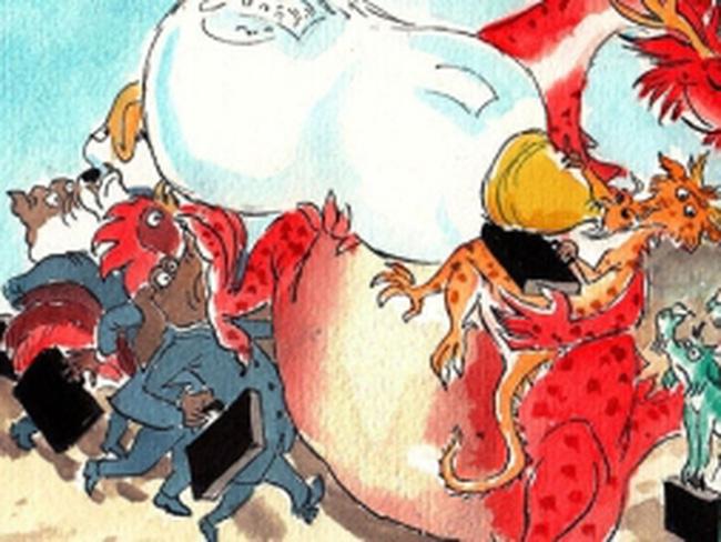 Nhà máy điện gió và câu chuyện về các doanh nghiệp nhà nước của Trung Quốc