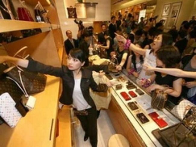 Trung Quốc sẽ đứng số 2 thế giới về tiêu thụ hàng xa xỉ