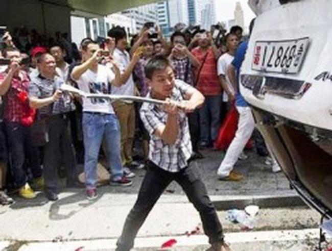 Trung Quốc có thể thiệt hại nặng vì tẩy chay xe Nhật