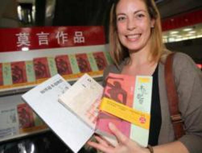 Trung Quốc kiếm bộn tiền từ giải Nobel Văn học