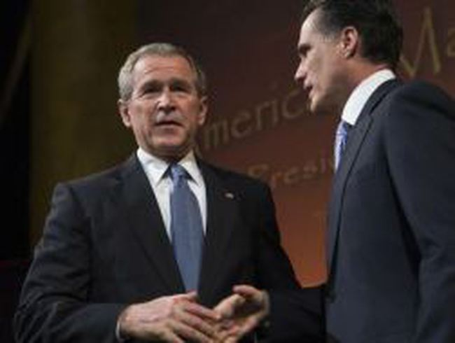 "George W. Bush – ""Nỗi ám ảnh"" của Mitt Romney ?"