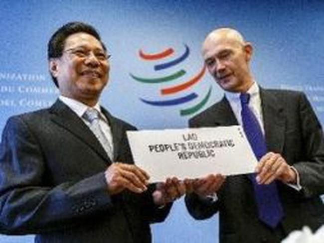 Lào chính thức trở thành thành viên mới của WTO