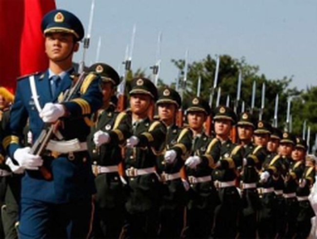 Quân đội Trung Quốc thề trung thành với Tập Cận Bình