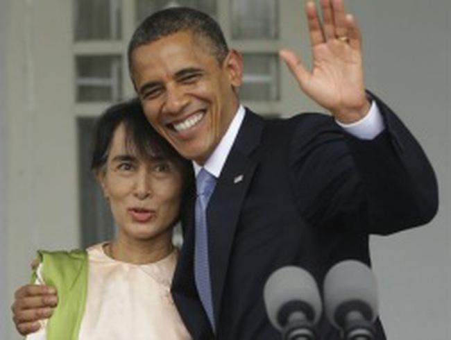 Hình ảnh ông Obama công du Đông Nam Á