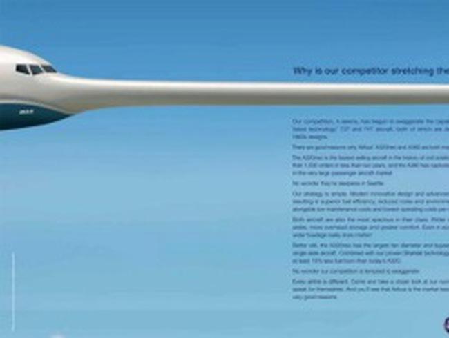 Airbus, Boeing và... cái mũi của Pinocchio