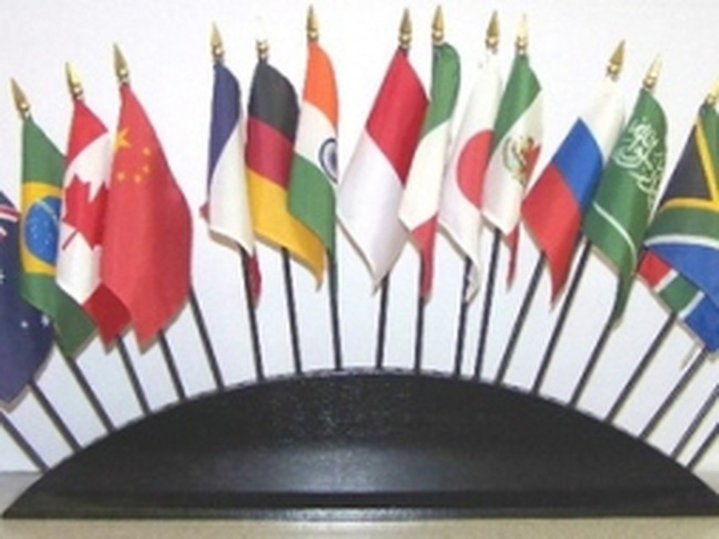 Nga tiếp quản cương vị Chủ tịch nhóm nước G-20
