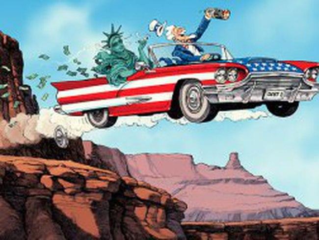 Kinh tế Mỹ: Bay qua vách đá?