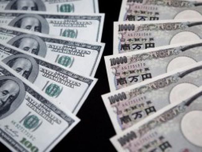 Phố Wall tiếp tục giảm điểm, đồng yên thấp nhất 20 tháng