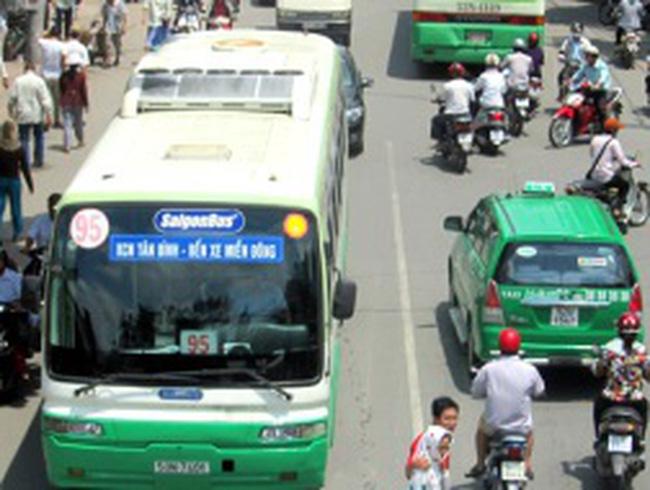 TP HCM tăng giá vé xe buýt
