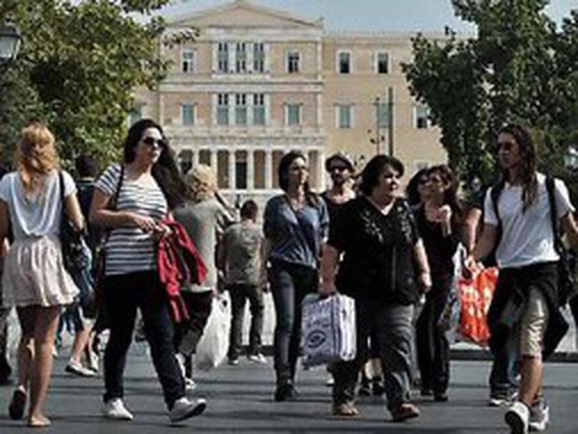 """Việc làm không chính thức """"lên ngôi"""" ở Hy Lạp"""