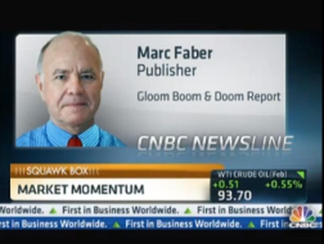 Marc Faber: Năm 2013, nên đầu tư vào TTCK Việt Nam