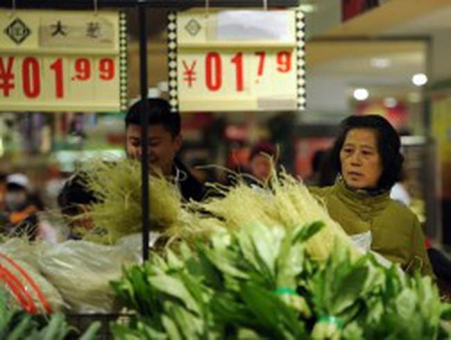 Thời tiết lạnh giá đẩy lạm phát Trung Quốc lên cao nhất 7 tháng