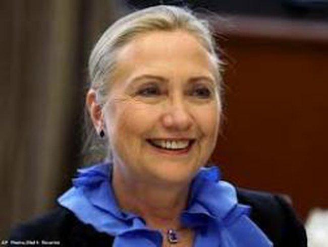 Bà Hillary Clinton nguy cơ bị mù