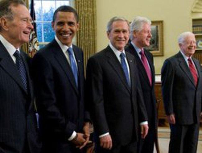 Hai cựu Tổng thống Bush đều không dự Lễ nhậm chức của Obama