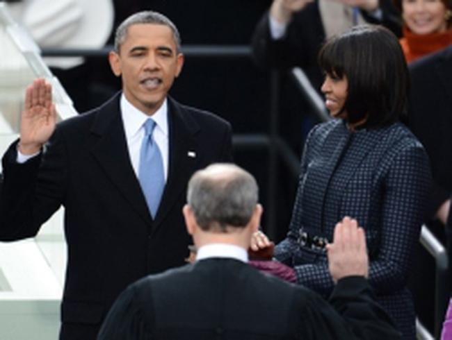 Obama tuyên thệ nhậm chức, kêu gọi đoàn kết