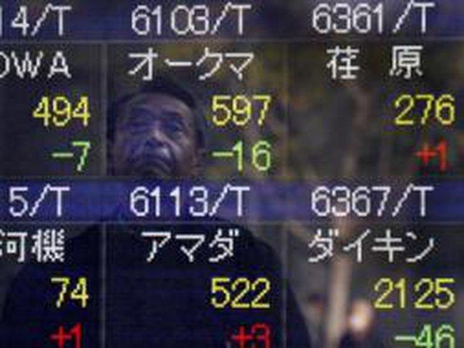 Chứng khoán châu Á đóng cửa cao nhất 17 tháng