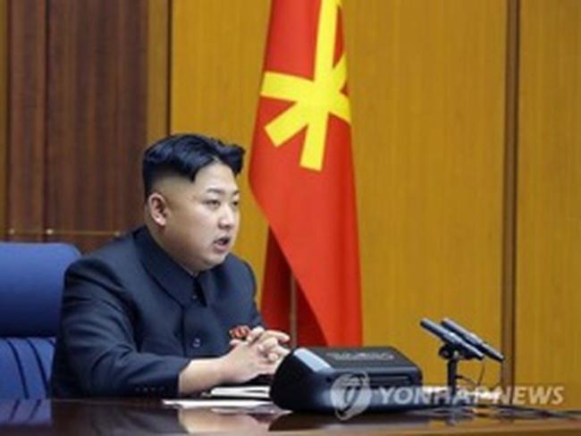 Kim Jong-un có diễn văn lịch sử tại Quân ủy trung ương
