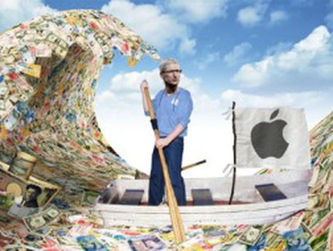 """Lãnh đạo Apple đau đầu vì """"núi"""" tiền mặt trăm tỷ đô"""