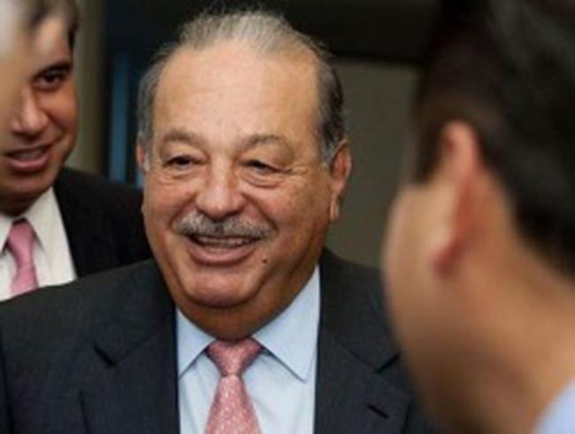 """Tỷ phú Carlos Slim """"mất"""" 3,9 tỷ USD trong 1 tuần"""